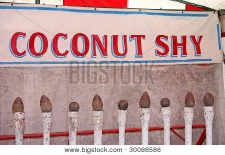 Coconut Shy.