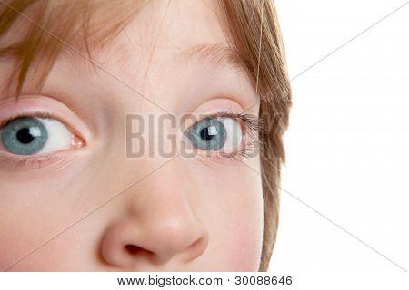 Eye Child Iris Boy