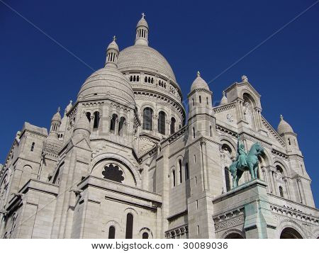 Basilica Sacre-coeur of Paris, France