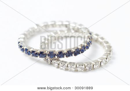 Diamond Rings Isolated