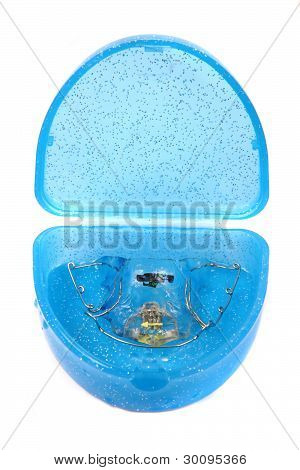 Braces In Blue Box
