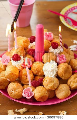 Birthday Pastries