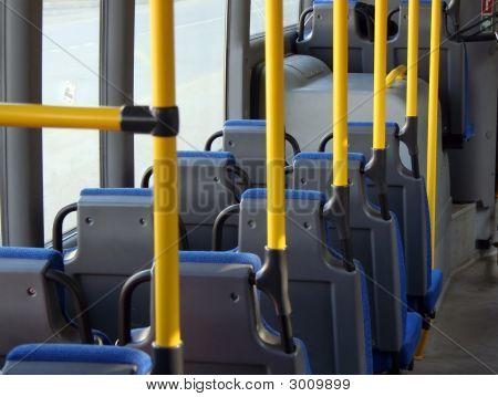 Kabine eines Shuttle-Busses