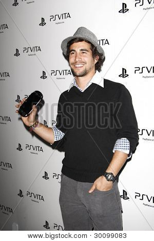 LOS ANGELES, CA - FEB 15: Danny Lopes at the Sony PlayStationAE Unveils PS VITA Portable Entertainment System at Siren Studios on February 15, 2012 in Los Angeles, California
