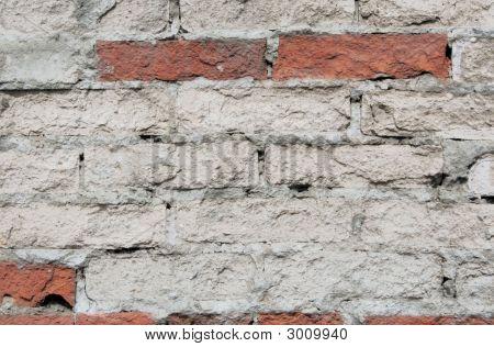 The Old Shabby Brick Wall