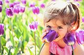 Impossible Scent. Face Skincare. Allergy To Flowers. Summer Girl Fashion. Happy Childhood. Little Gi poster