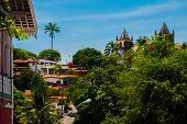 Olinda, Pernambuco, Brazil: The Historic Streets Of Olinda In Pernambuco, Brazil With Its Cobbleston poster