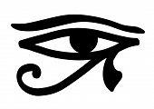 Eye Horus Eye Of The Horus Horusauge Egyptian Egypt Protection poster