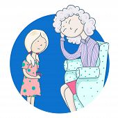 Daughters-mothers. A Weak Mother, A Caring Independent Daughter, A Mother Not Self-confident, Not Ta poster