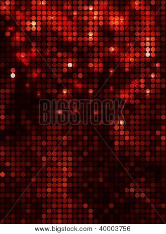 Vertical black red  mosaic