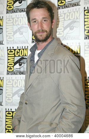 SAN DIEGO, CA - JULY 13: Noah Wyle arrives at the 2012 Comic Con convention press room at the Bayfront Hilton Hotel on Friday, July 13, 2012 in San Diego, CA.