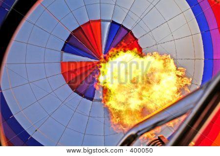 Balloon Propane Burst