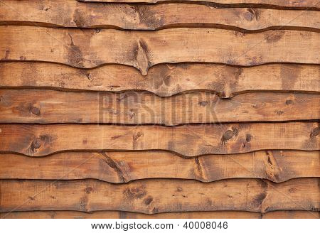Unhewn Wooden Boards