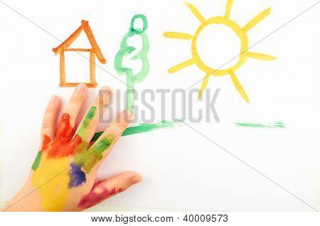 Child's Hand
