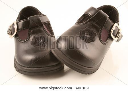 Black Baby Shoes 2
