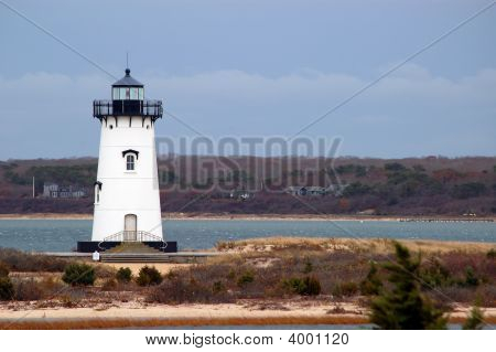 Lighthouse At Chappaquiddick