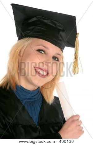 Academic Girl Graduate's