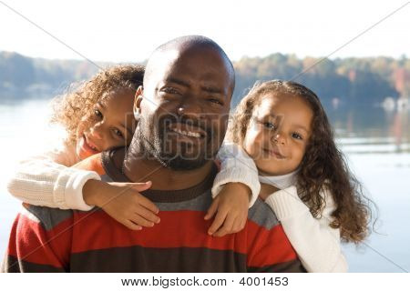 A Father And His Daughters