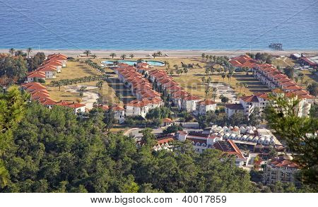 Kemer City - Famous Mediterranean Resort. Antalya Province, Turkey