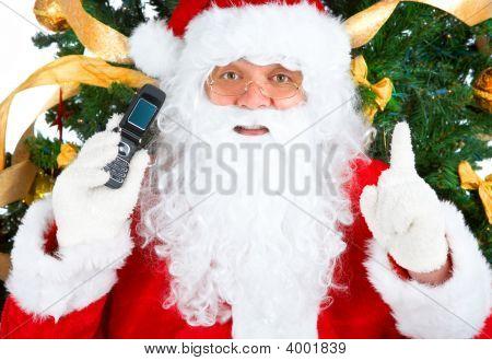 Smiling Santa, Cellular