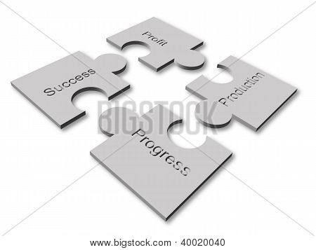 3D Business Vector Graphic