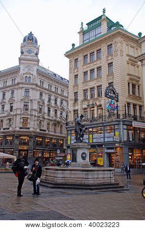 Graben Street,Vienna, Austria