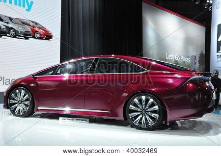 Toyota NS4 Concept Car