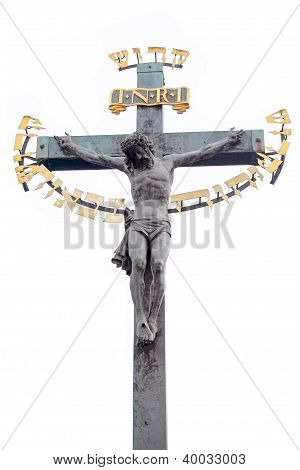 Baroque Crucifix