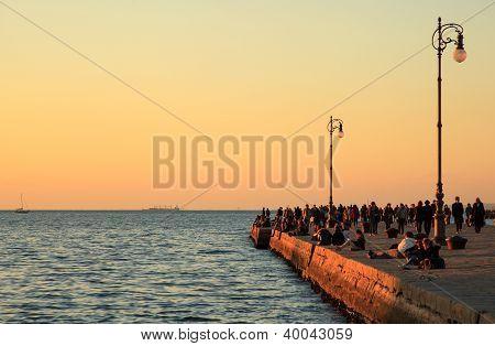 Molo Audace In Trieste