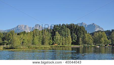 Lake Schwarzsee,Kitzbuehel,Austria