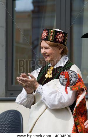 Vaira Vike-Freiberga - Ex-President Of The Republic Of Latvia