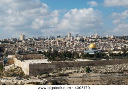 View Over Jerusalem