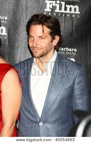 LOS ANGELES - DEC 8:  Bradley Cooper arrives to the SBIFF Kirk Douglas Award  at Bacara Resort & Spa on December 8, 2012 in Santa Barbara, CA