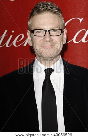 PALM SPRINGS, CA - JAN 7: Kenneth Branagh at the 23rd Annual Palm Springs International Film Festival Awards Gala at the Palm Springs Convention Center on January 7, 2012 in Palm Springs, California