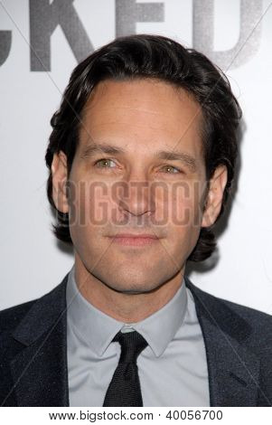 LOS ANGELES - DEC 12:  Paul Rudd arrives to the 'This is 40'  Premiere. at Graumans Chinese Theater on December 12, 2012 in Los Angeles, CA