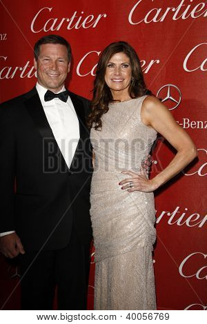 PALM SPRINGS, CA - JAN 7: Mary Bono; Connie Mack IV at the 23rd Annual Palm Springs International Film Festival Awards Gala at the Palm Springs Convention Center on January 7, 2012 in Palm Springs, CA