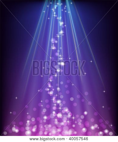 Abstract blue purple background