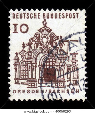 Pavilion, Zwinger, Dresden