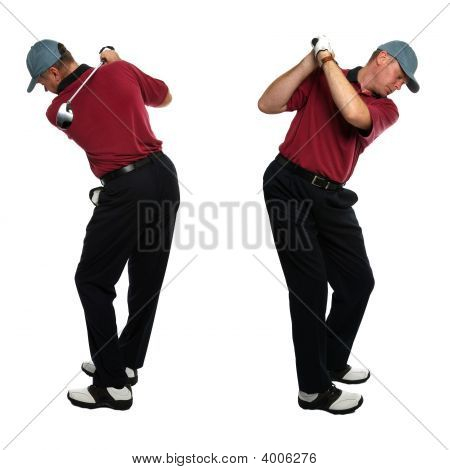 Golfer Side Views