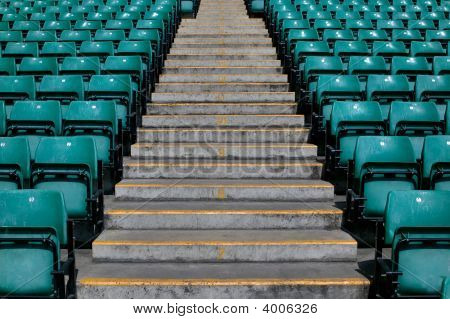 Sports Stadium Steps