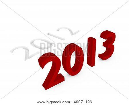 3D Render Of 2013 Replacing 2012