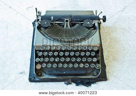 Old Antique Typewriter