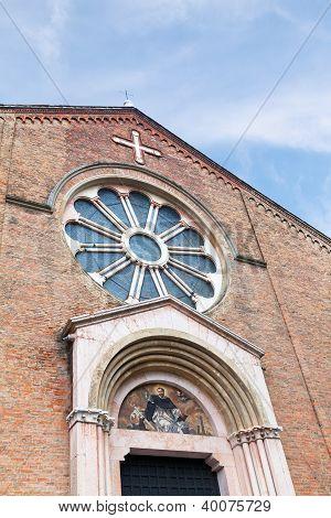 Basilica Of San Domenico In Bologna, Italy