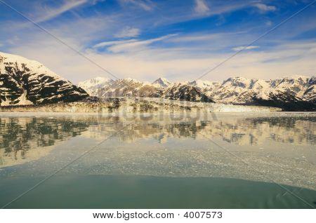 Hubbard Glacier Wide Angle