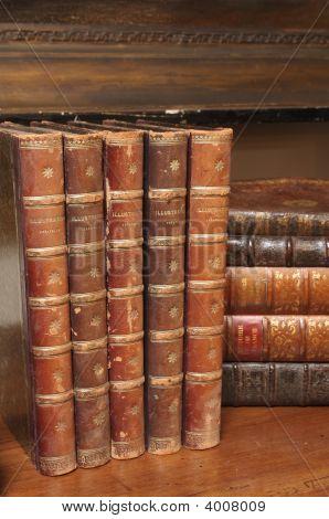 Various Antique Books