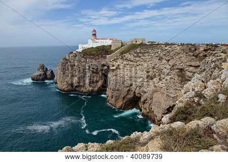View from Cape St.Vincent, Portugal