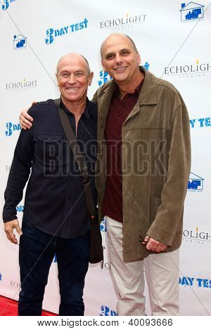 LOS ANGELES - DEC 8:  Corbin Bernsen, Kurt Fuller arrive to the '3 Day Test