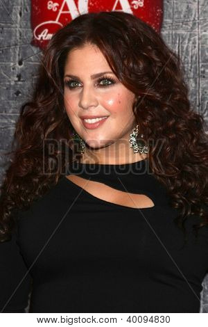LOS ANGELES - DEC 10:  Hillary Scott arrives to the American Country Awards 2012 at Mandalay Bay Resort and Casino on December 10, 2012 in Las Vegas, NV