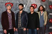LOS ANGELES - DEC 10:  Eli Young Band arrives to the American Country Awards 2012 at Mandalay Bay Re