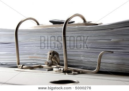 Folder In An Office